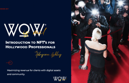 NFT's for Hollywood Professionals